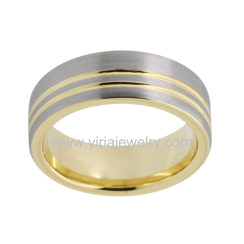 Double offset linesFactory direct price Gold plated tungsten